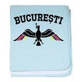 Bucharest Eagle baby blanket