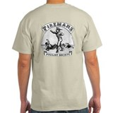 Firemans Pugilist Society 2 Sided T-Shirt