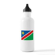 Namibia Flag Water Bottle
