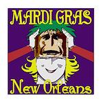 New Orleans Art Tile Coaster