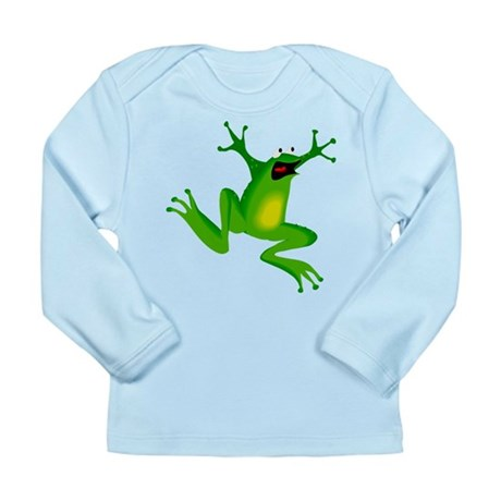 Feeling Froggy Long Sleeve Infant T-Shirt