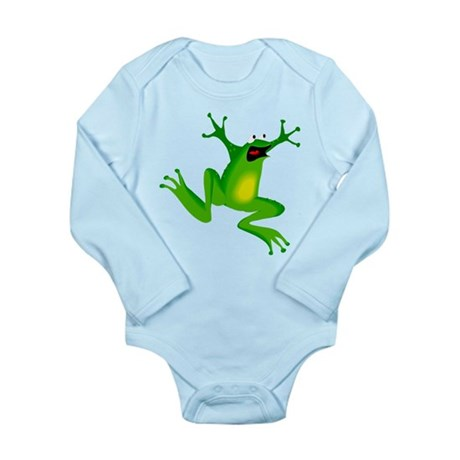 Feeling Froggy Long Sleeve Infant Bodysuit