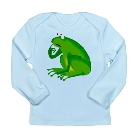 Frog Long Sleeve Infant T-Shirt