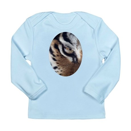 Tiger Eye Long Sleeve Infant T-Shirt