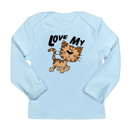 Love My Cat Long Sleeve Infant T-Shirt