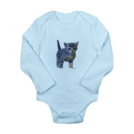 Kitten Long Sleeve Infant Bodysuit