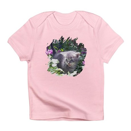 Flower Kitten Infant T-Shirt