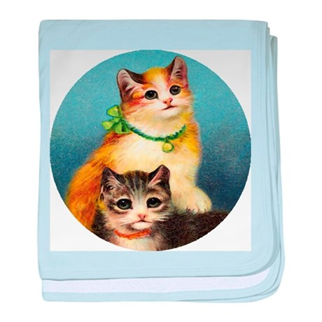 Cute Kittens baby blanket