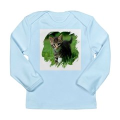 Baby Kitten Long Sleeve Infant T-Shirt