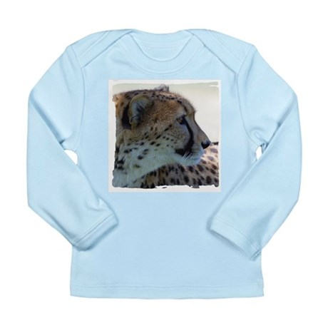 Cheeta Long Sleeve Infant T-Shirt