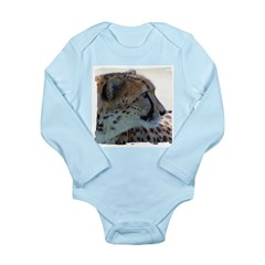 Cheeta Long Sleeve Infant Bodysuit