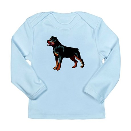 Rottweiler Long Sleeve Infant T-Shirt