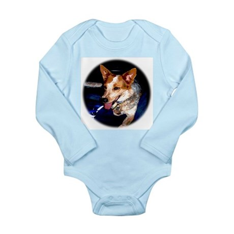 Red Heeler Long Sleeve Infant Bodysuit