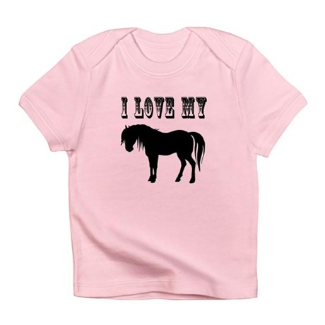 I Love My Pony Infant T-Shirt