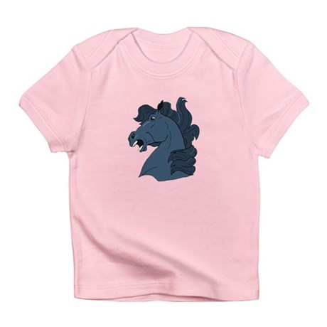 Blue Horse Infant T-Shirt