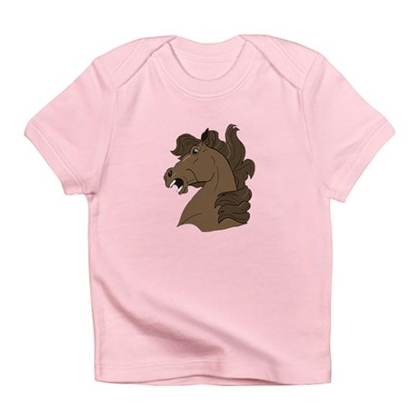 Brown Horse Infant T-Shirt