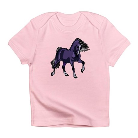 Fantasy Horse Purple Infant T-Shirt