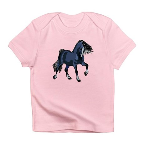 Fantasy Horse Blue Infant T-Shirt