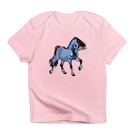 Fantasy Horse Light Blue Infant T-Shirt