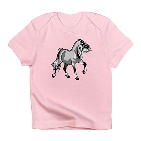 Spirited Horse White Infant T-Shirt