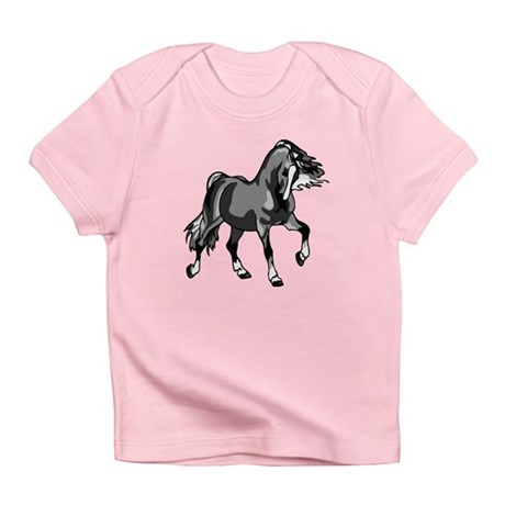 Spirited Horse Gray Infant T-Shirt