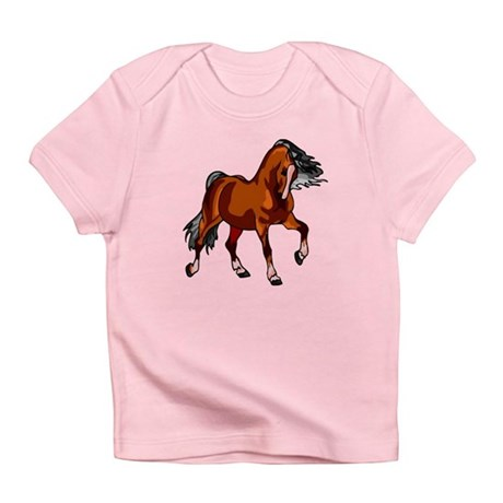 Spirited Horse Red Infant T-Shirt