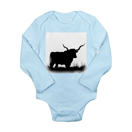 Longhorn Long Sleeve Infant Bodysuit