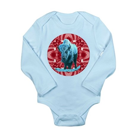Buffalo Long Sleeve Infant Bodysuit