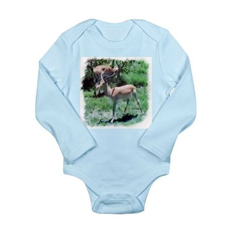 Gazelle Long Sleeve Infant Bodysuit