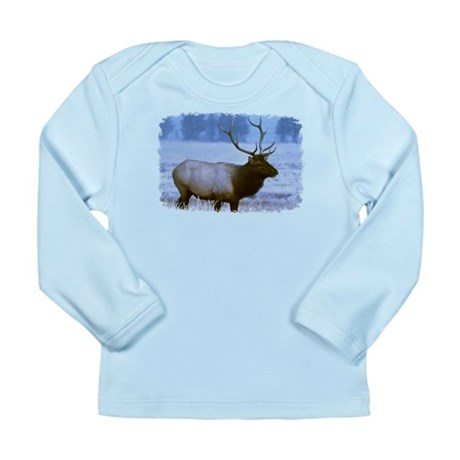 Bull Elk Long Sleeve Infant T-Shirt