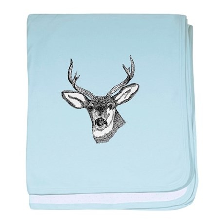 Whitetail Deer baby blanket