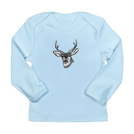 Whitetail Deer Long Sleeve Infant T-Shirt