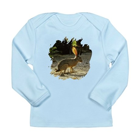 Texas Jackolope Long Sleeve Infant T-Shirt