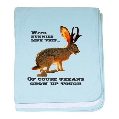 Texas Jackalope baby blanket