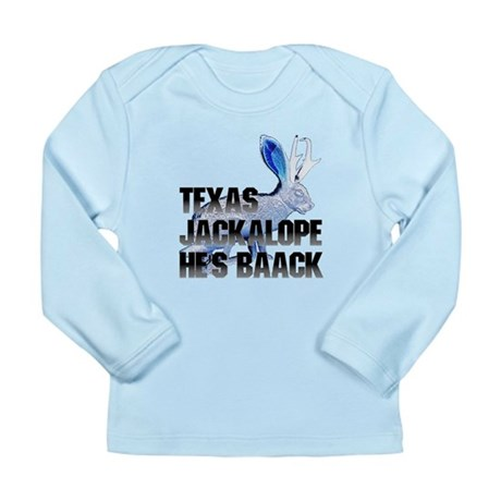 Texas Jackalope Long Sleeve Infant T-Shirt