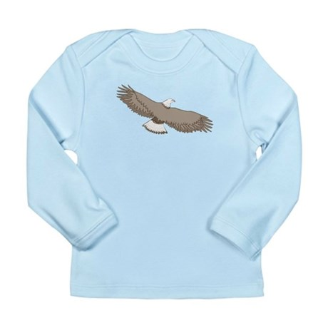 Bald Eagle Long Sleeve Infant T-Shirt