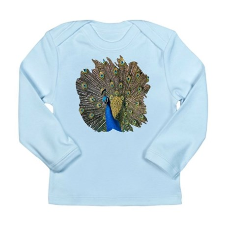 Peacock Long Sleeve Infant T-Shirt