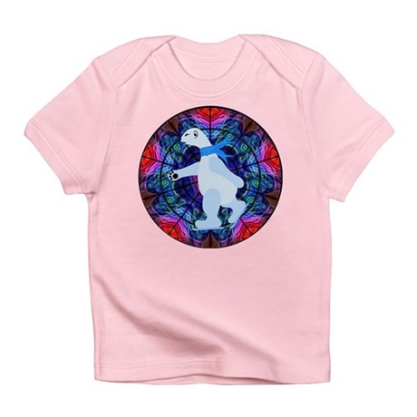 Skating Polar Bear Infant T-Shirt