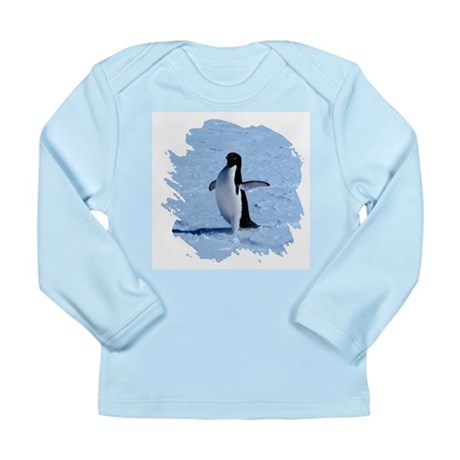 Penguin Long Sleeve Infant T-Shirt