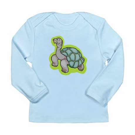 Little Turtle Long Sleeve Infant T-Shirt