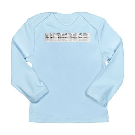 Frog Line Up Long Sleeve Infant T-Shirt