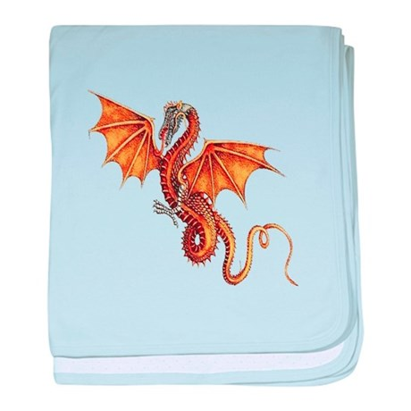 Fantasy Dragon baby blanket