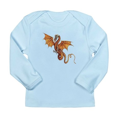 Fantasy Dragon Long Sleeve Infant T-Shirt