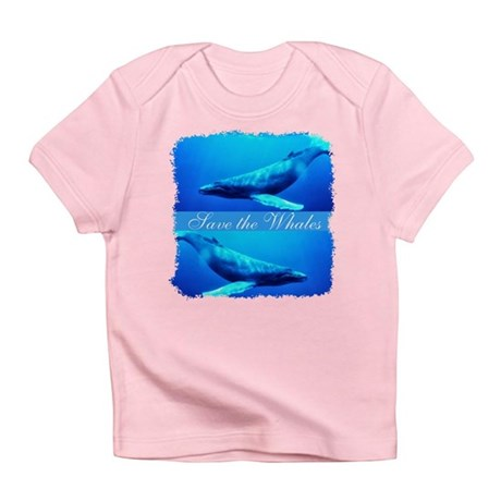 Save the Whales Infant T-Shirt
