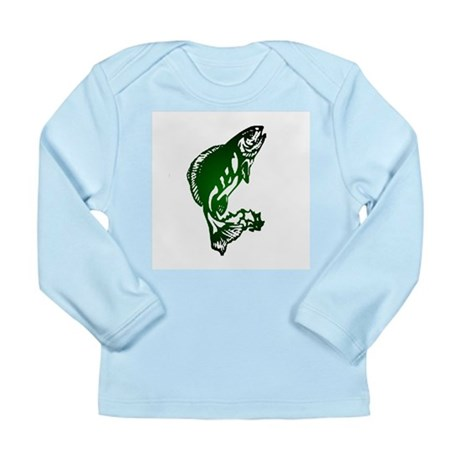 Fish Long Sleeve Infant T-Shirt