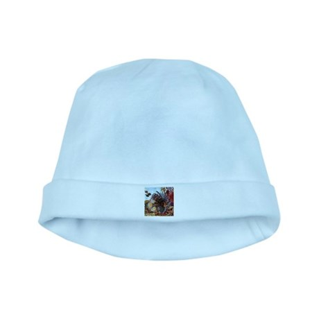 Ocean Window baby hat