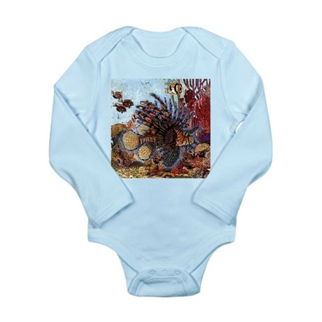 Ocean Window Long Sleeve Infant Bodysuit