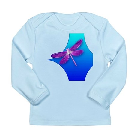 Pretty Dragonfly Long Sleeve Infant T-Shirt