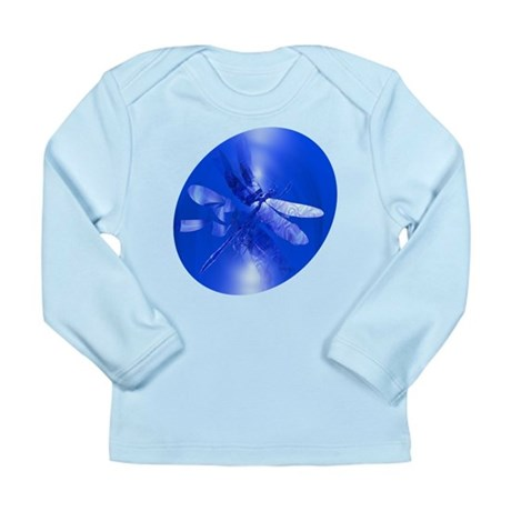 Blue Dragonfly Long Sleeve Infant T-Shirt