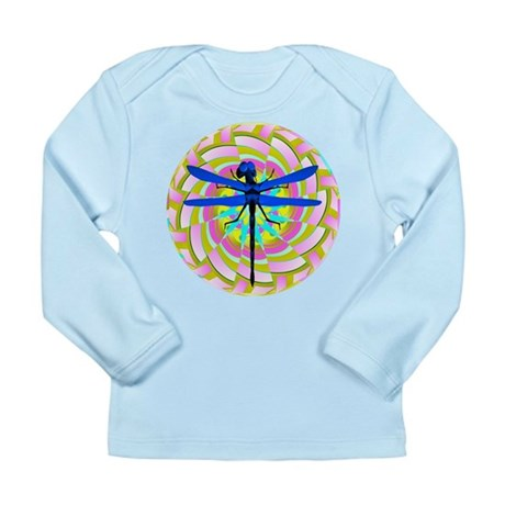 Kaleidoscope Dragonfly Long Sleeve Infant T-Shirt